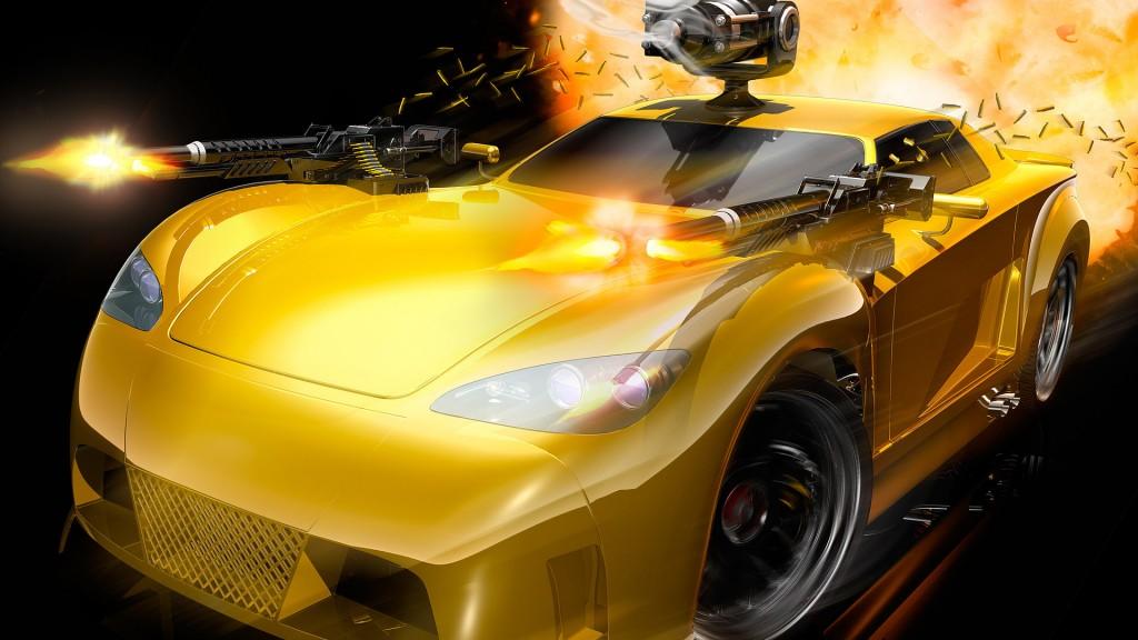 wallpaper hd car yellow