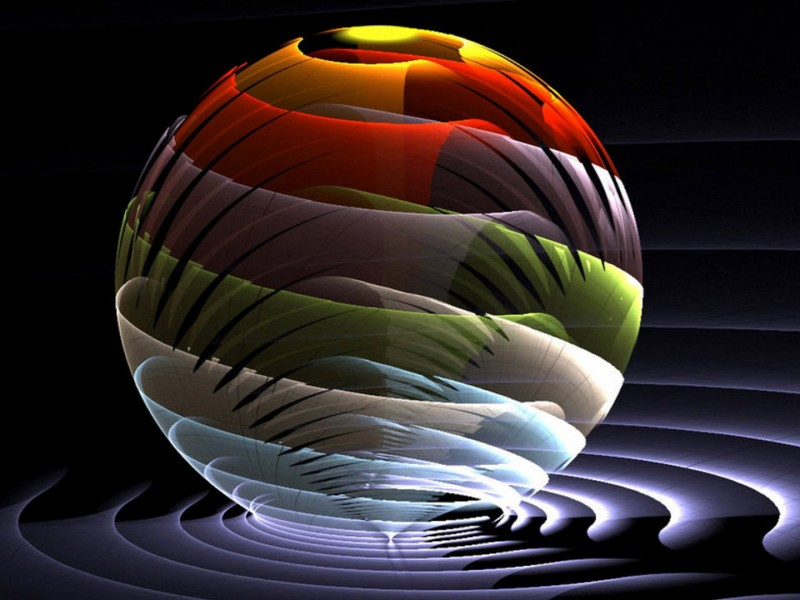 ball 3D abstract