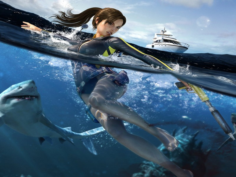 tomb raider game wallpaper hd